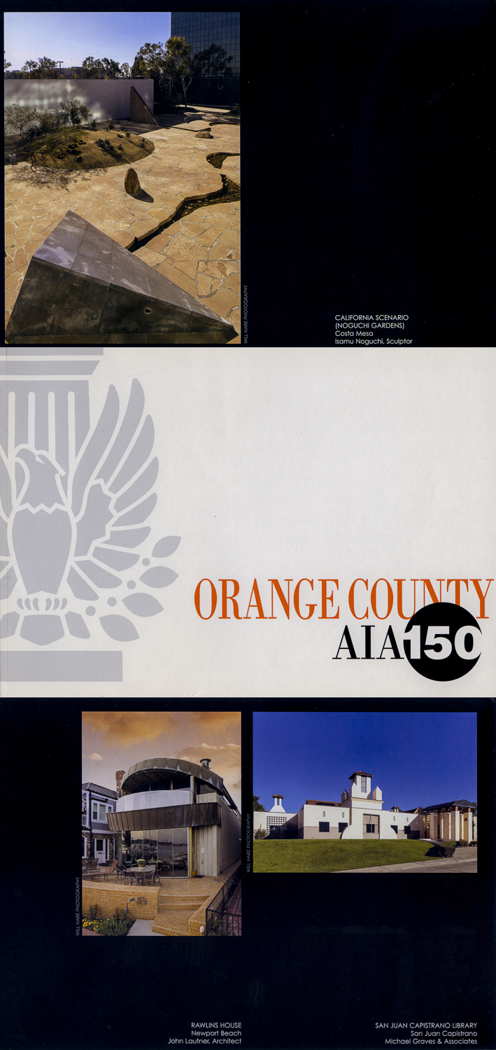 Tear sheet from the book published by the American Institute of Architects for the 150th anniversary of AIA National.