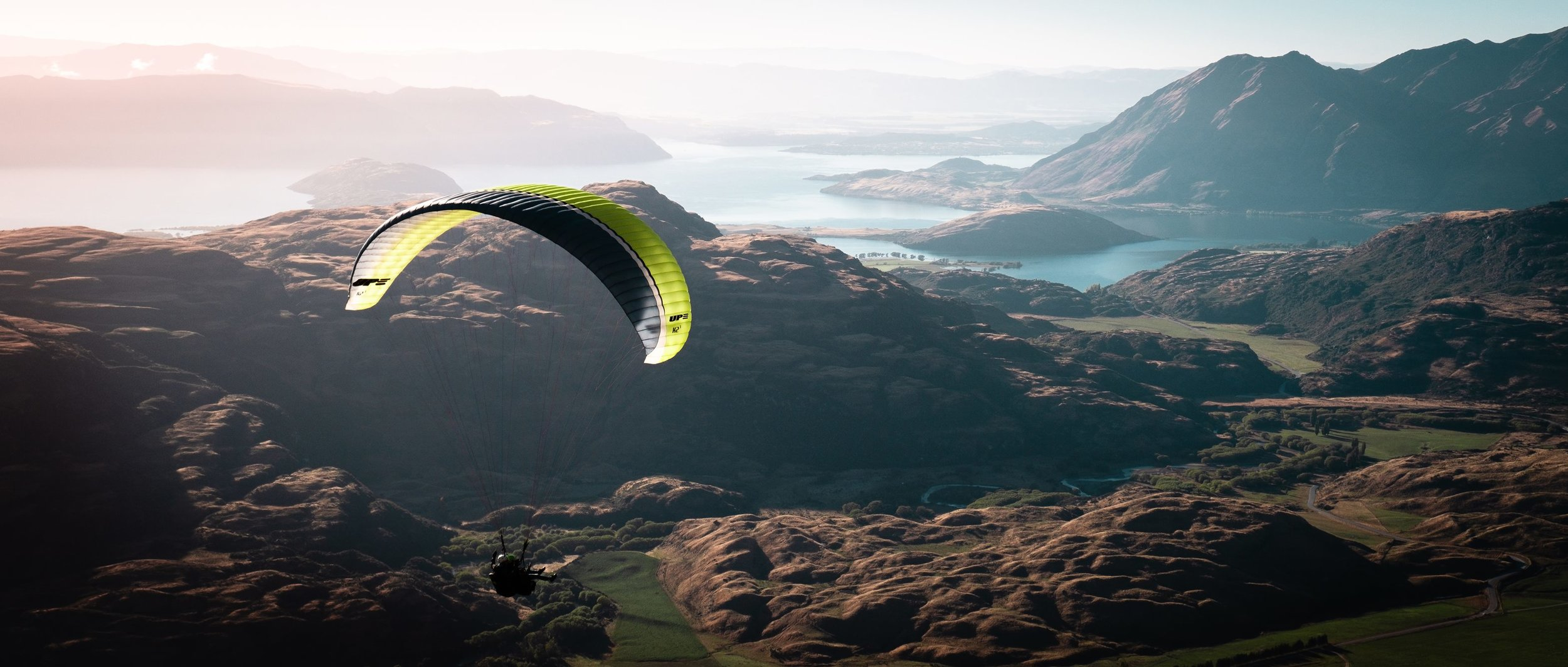 Prepare to be thrilled and amazed. Stunning wild scenery, twin waterfalls, plus flying over deer and wild falcon, beyond expectations. Wanaka Paragliding was in all an absolute highlight of our trip.