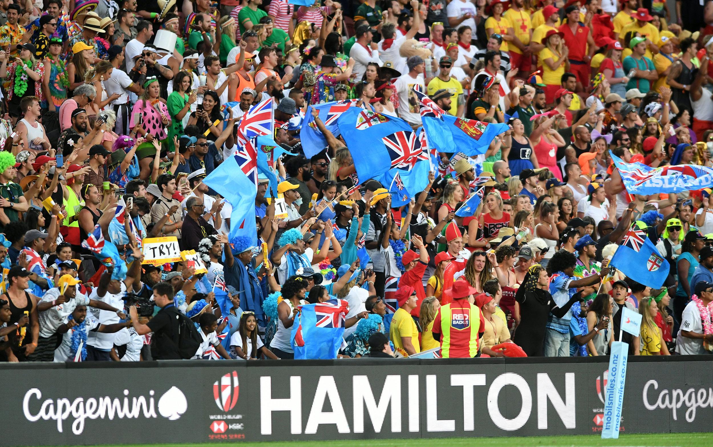 Fiji flags full crowd.jpg