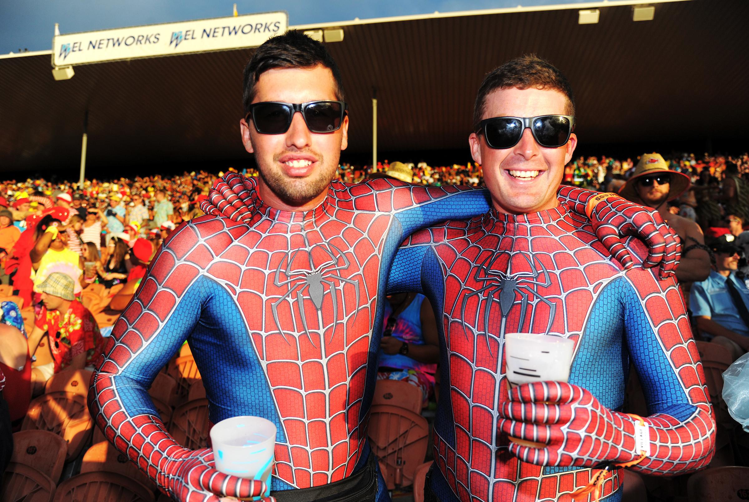 Spidermen, WEL Networks signage incl.jpg