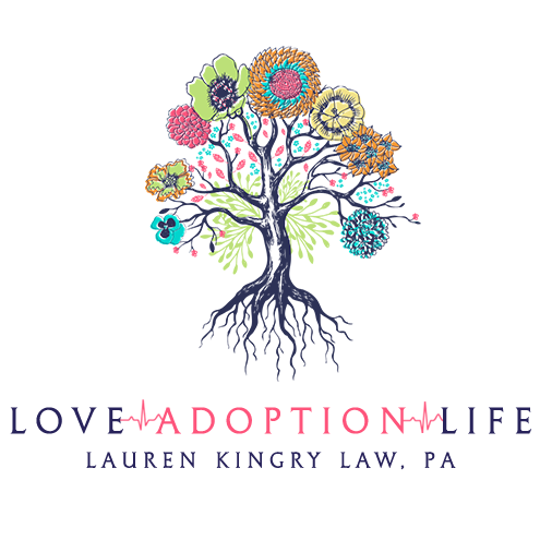 Love Adoption Life - A Jacksonville Adoption Placement Firm. As a partner of Lauren Kingry Law PA, Love Adoption Life specializes in adoption placement.Are you currently looking to adopt a baby? Our Jacksonville Adoption Attorneys have years of experience helping adoptive parents and families get through the adoption journey. We understand how important the adoption process can be for the future of your family!