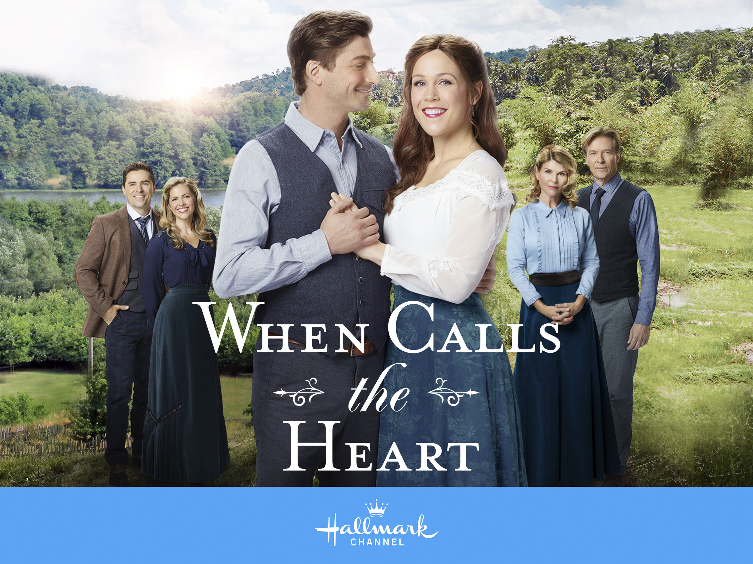 When Calls The Heart - PGHallmark Channel, available on Netflix.