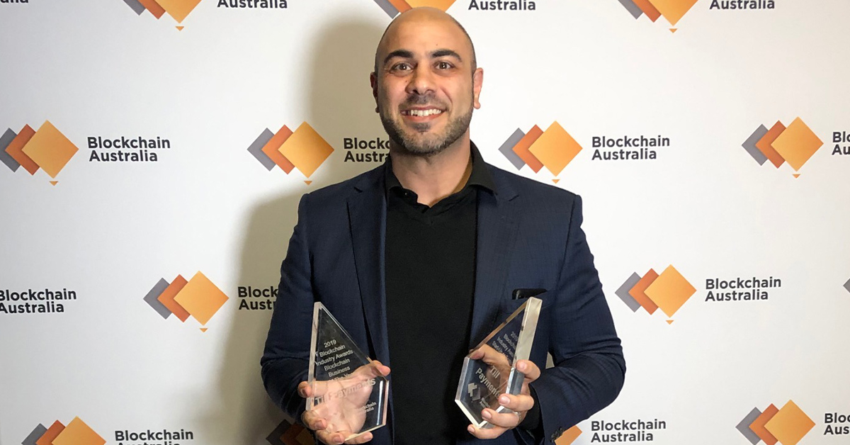 Media Release   TILL PAYMENTS WINS AUSTRALIAN BLOCKCHAIN INDUSTRY AWARDS FOR BLOCKCHAIN START-UP OR SCALE UP OF THE YEAR & BLOCKCHAIN BUSINESS OF THE YEAR