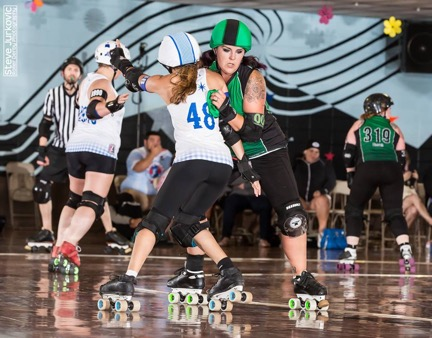 Photo by Steve Jurkovic Roller Derby Photography