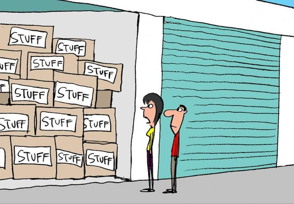 Call us to organize or re-stack your storage unit in the Florence SC area.