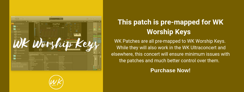 Every Little Thing - Y&F - Mainstage + Omnisphere patch — WK MUSIC