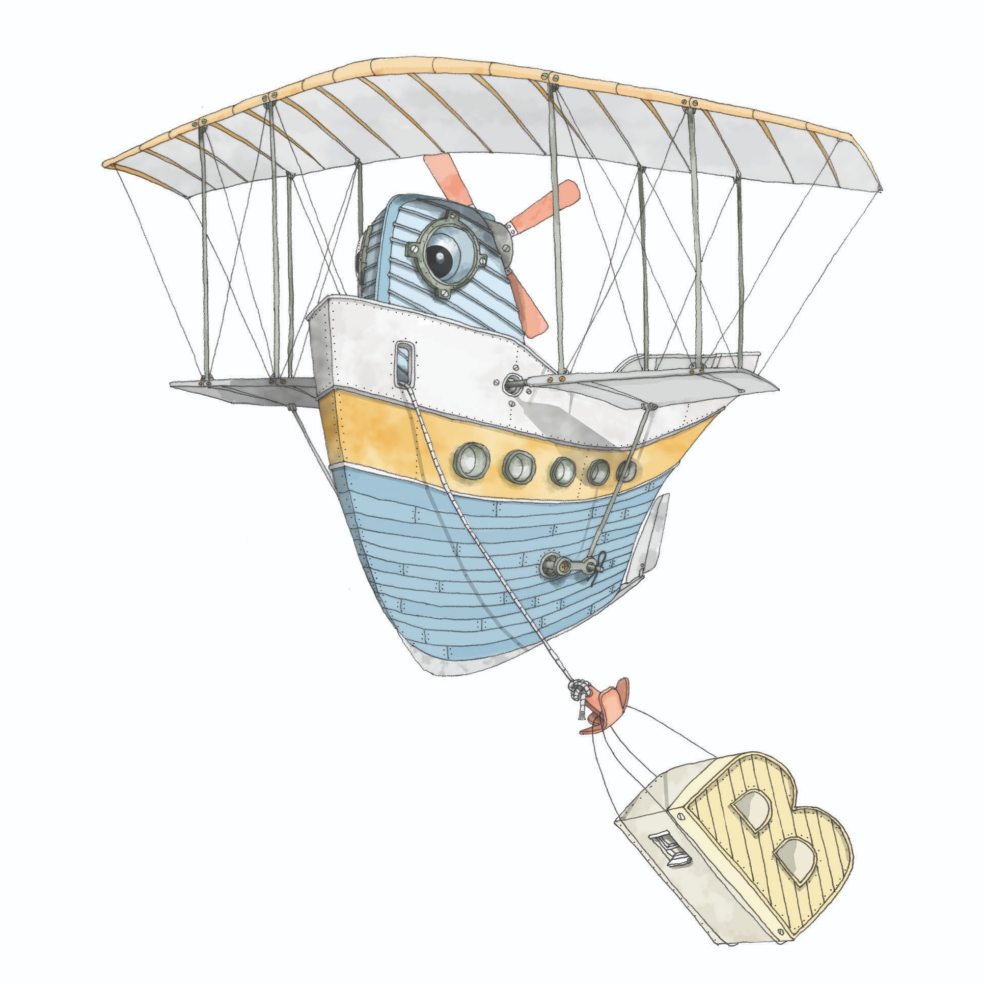 Bi Plane Boat