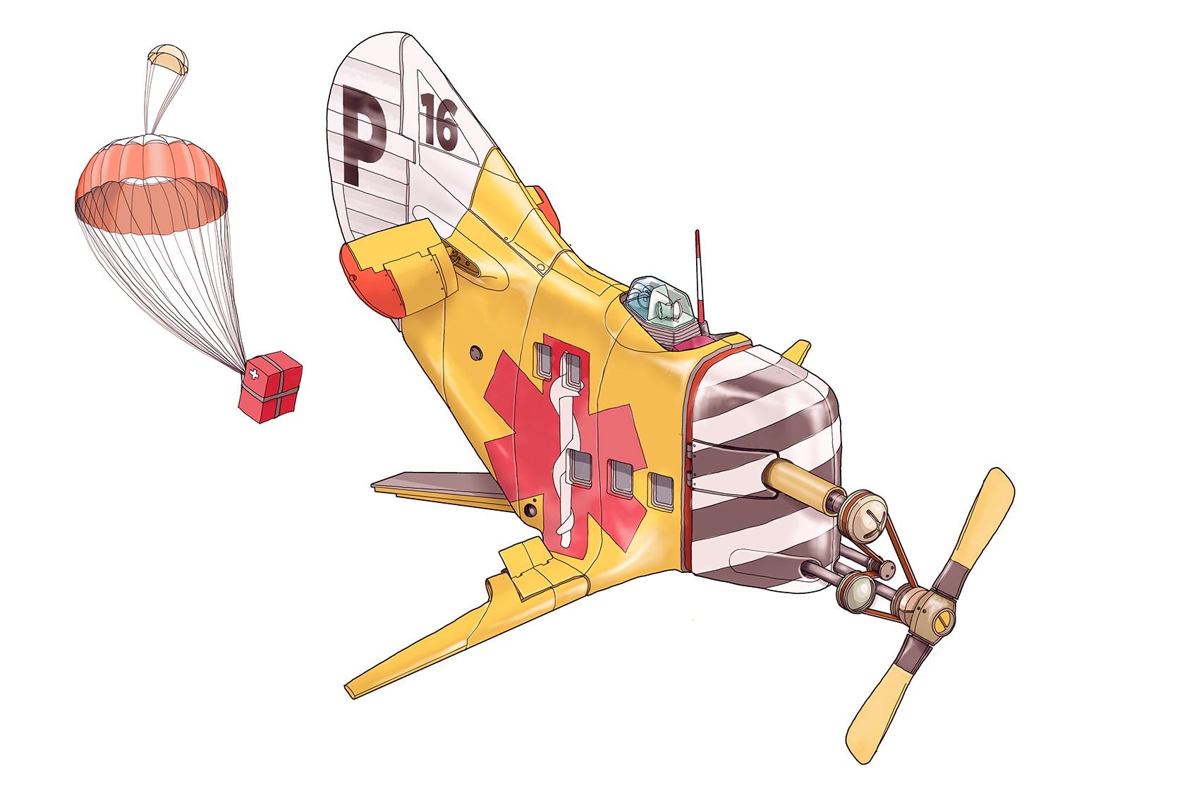 Paramedic Pulley Plane