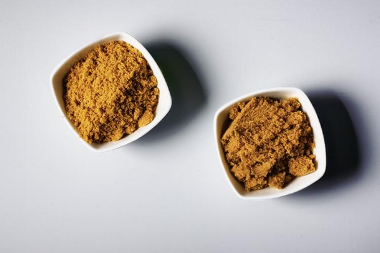 Muscovado sugar and brown sugar