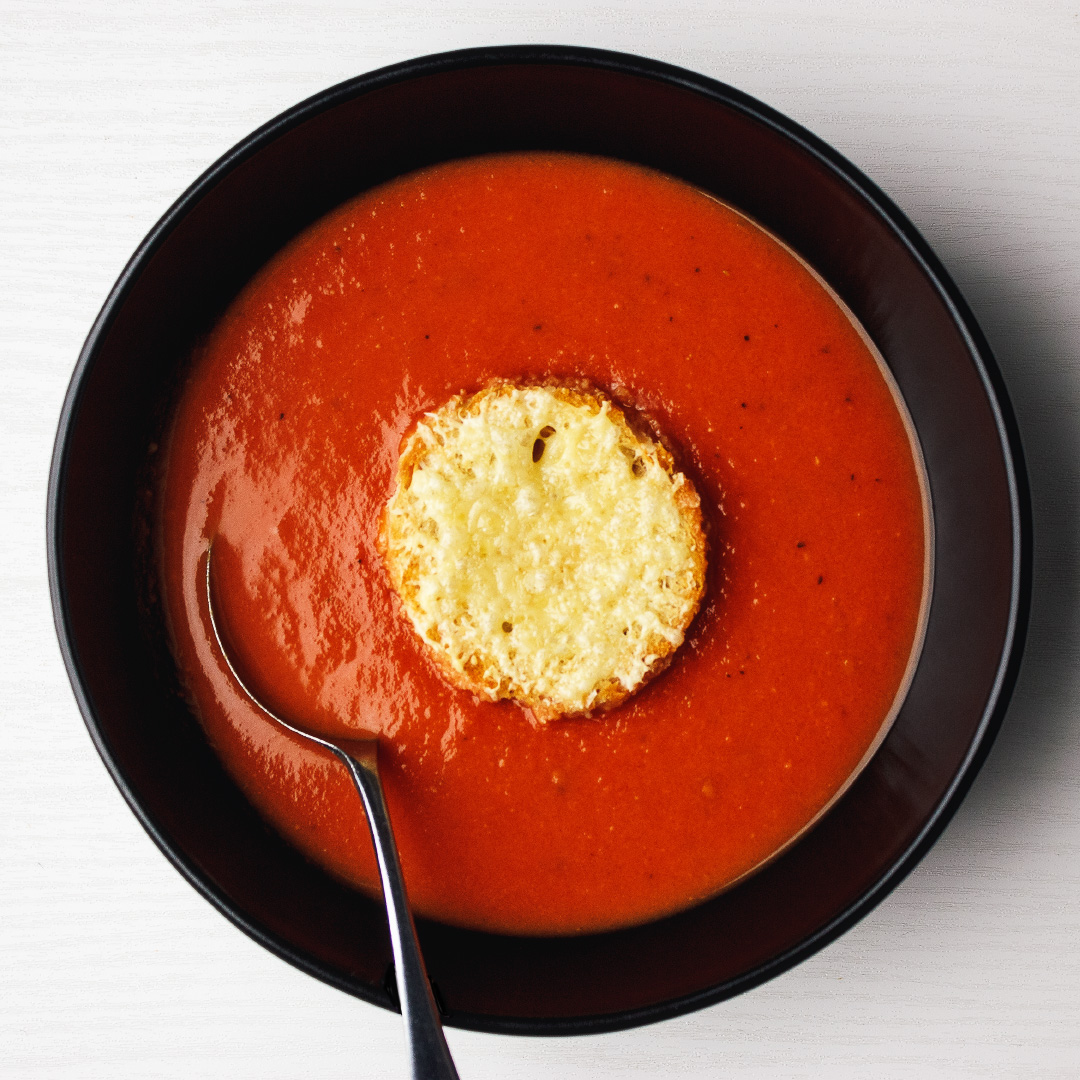 Slow-roasted tomato soup