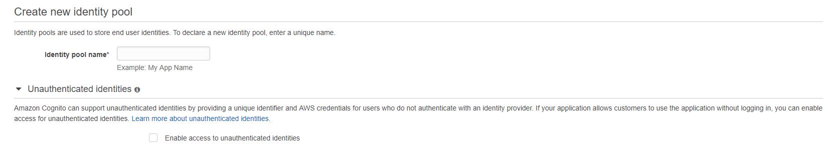 Federated Identity - Step 1