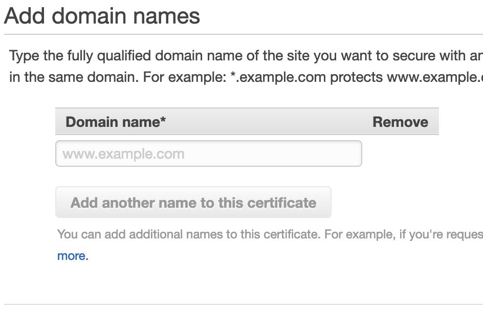 Certificate - step 2