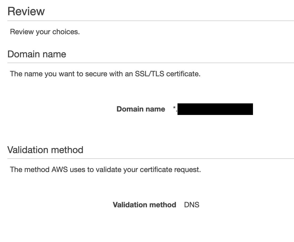 Certificate - step 4