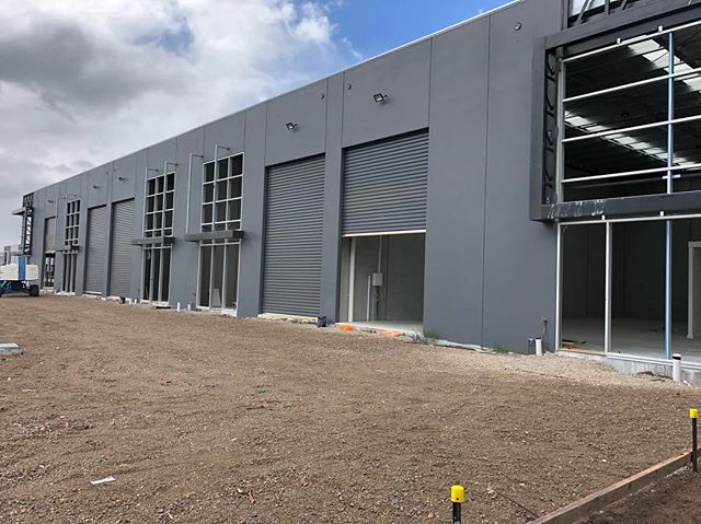 Factory fit out in Rosebud almost complete. 🏭