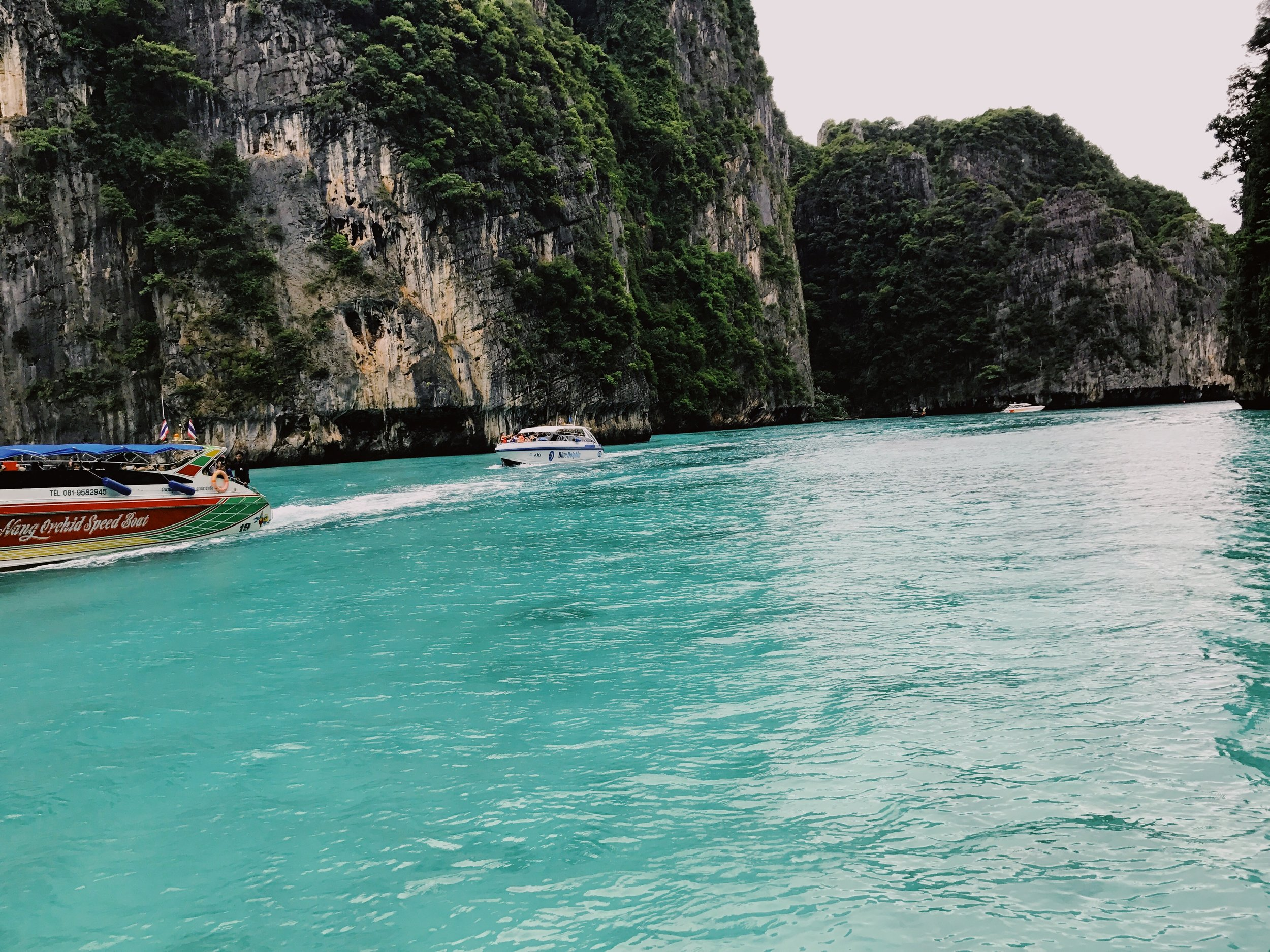 There are six islands in the group known as Phi Phi... - Ko Phi Phi Don and Koh Phi Phi Lee are the largest islands...