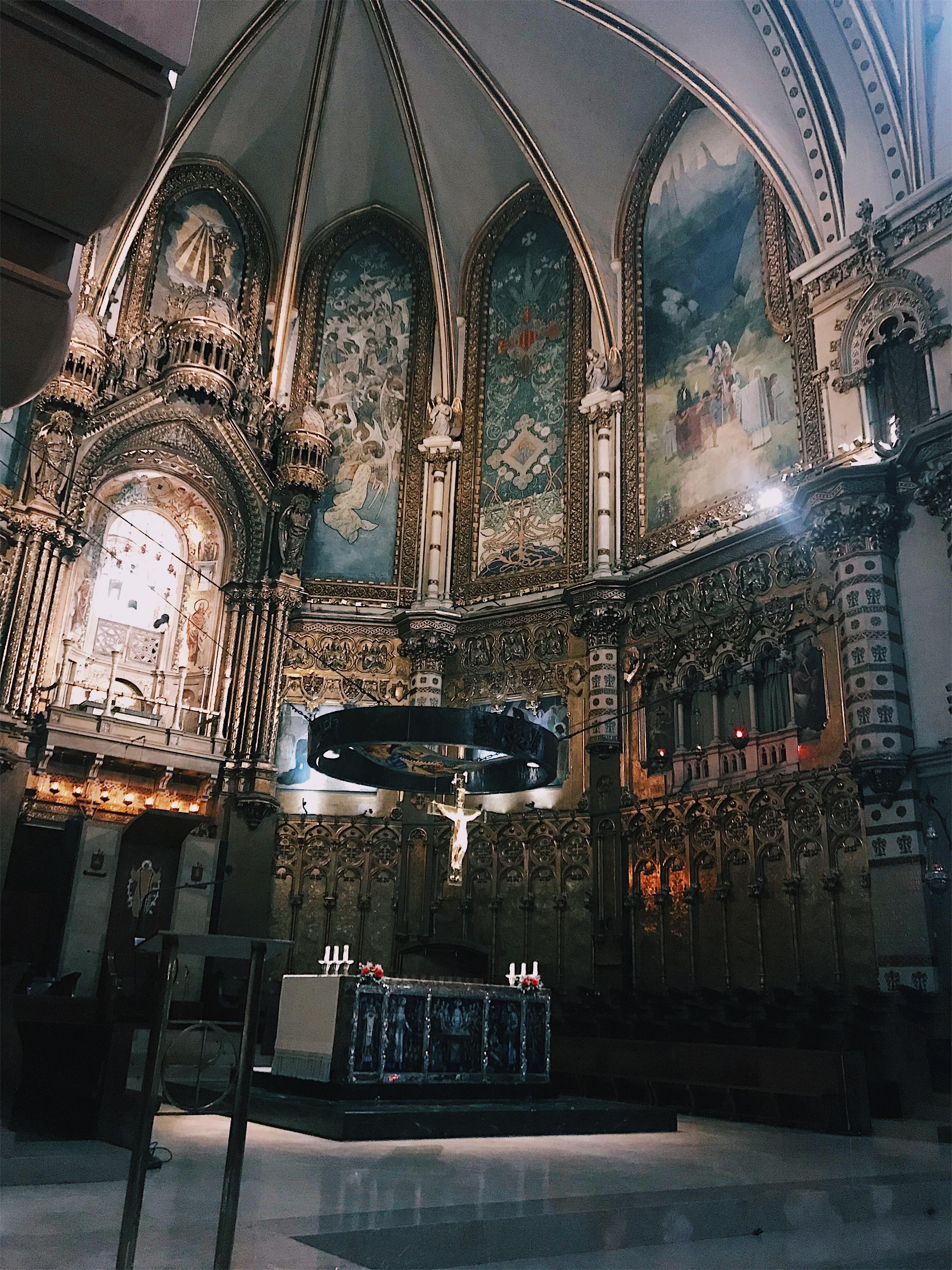 Inside the bascilica