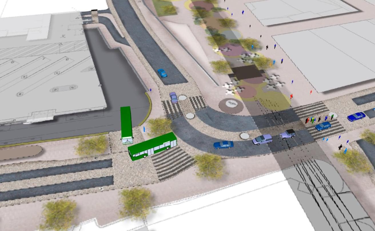Streetscape Improvement Testing