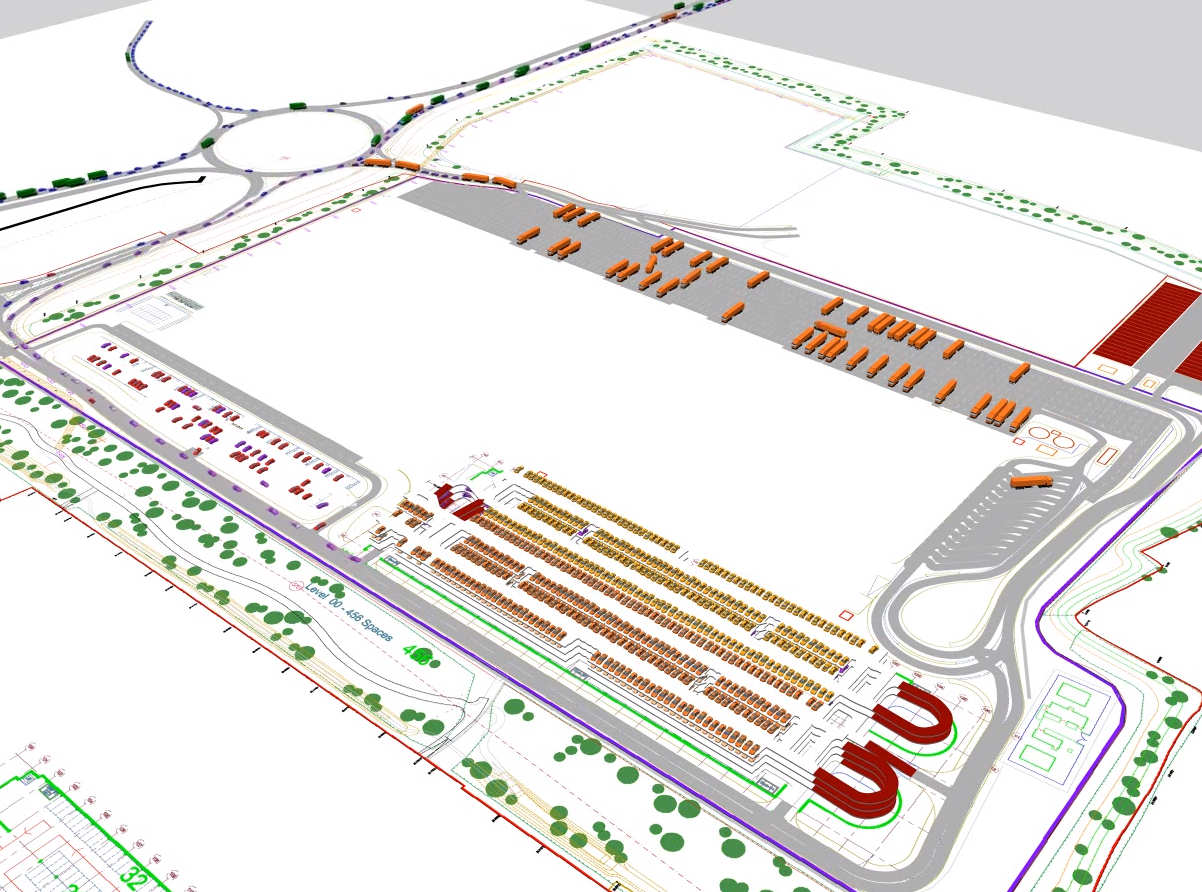 Multistorey Car Park & Distribution Centre