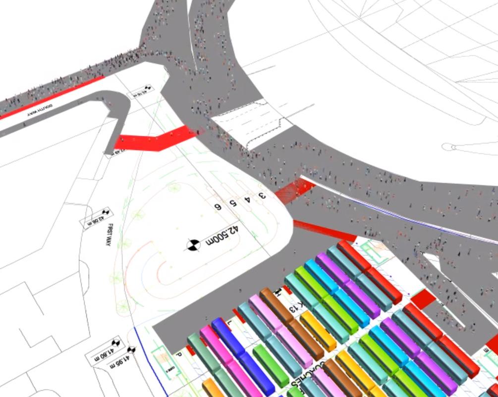 Pedestrian Event Planning