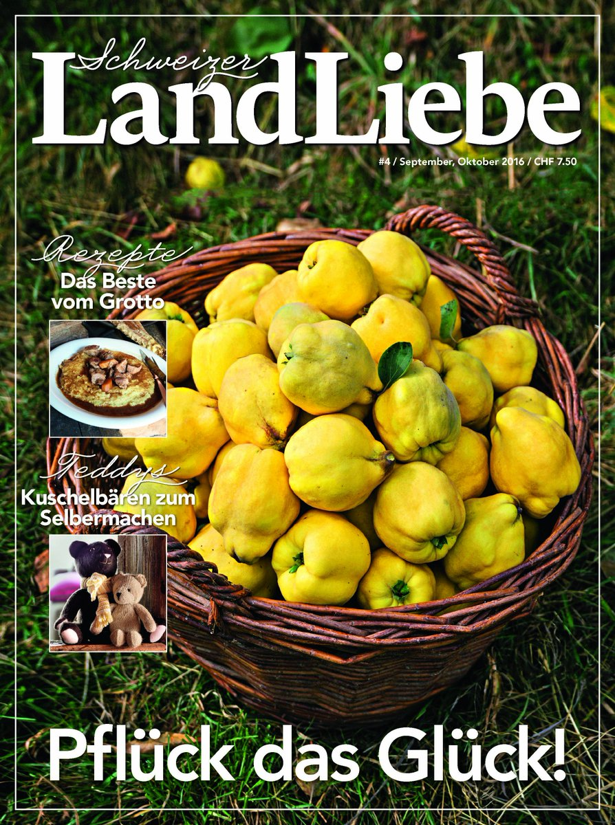 Schweizer LandLiebe - Rubriques