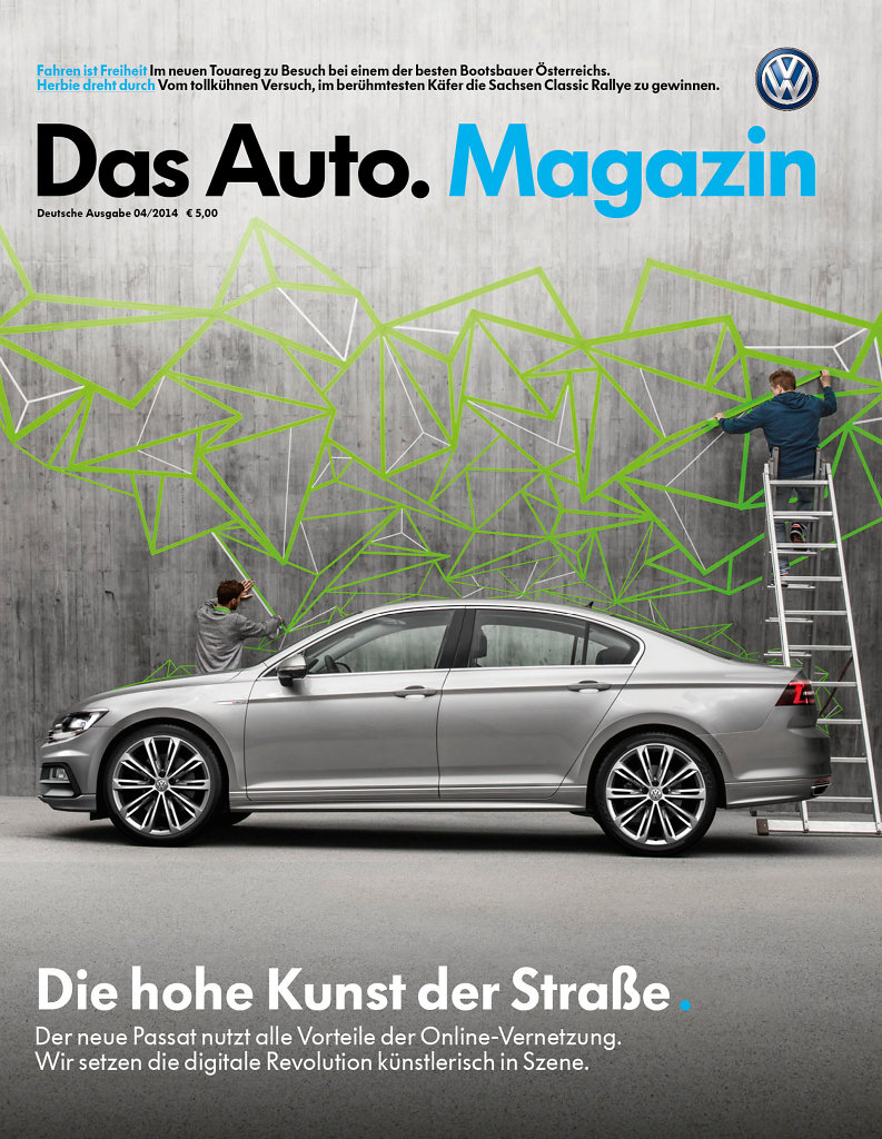 volkswagen-magazin - Das Kundenmagazin von VW für alle Neuwagenkäufer in drei Spachausgaben