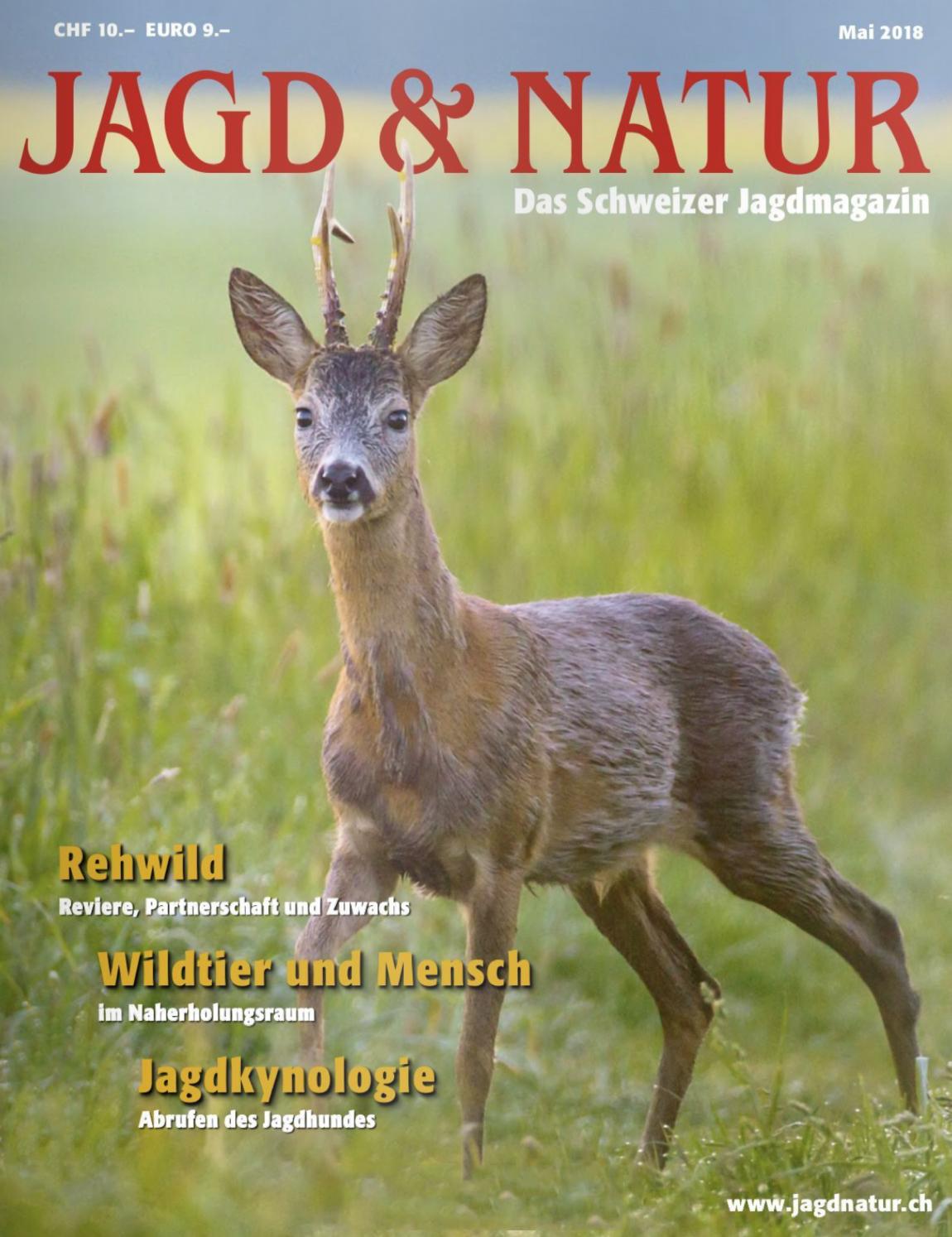 Jagd & Natur - Das führenden Schweizer Jagdmagazin mit monatlicher Erscheinungsweise