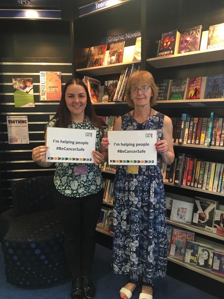Joyce and Anna SN library pledge.jpg