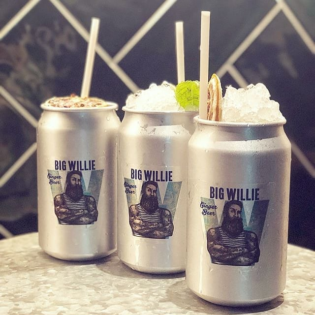 Normally sailors don't love the ice but Big Willie mixes well with everything. Thanks to @candybaredinburgh - grab a Big Willie there.  #drinks #drinkwithspirit #bigwilliedrinks #bigwdrinks #bigwillie #cocktail #mixology #bar #edinburgh