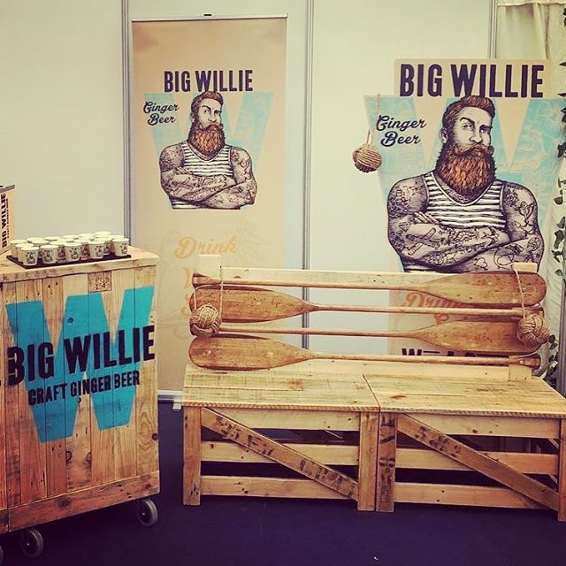 We're docked at the Spirit of North Hop Dundee this weekend. Come say hello and try some of Big Willie's finest ginger beer! ⚓️ . @northhop #spiritofnorthhop #bigwilliedrinks