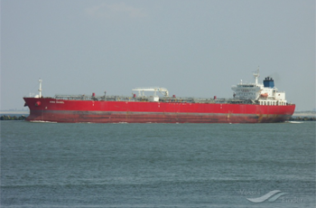 73.720 dwt product tanker built in 2008 by New Times Shipbuilding, Jingjiang, China. Manager: Columbia Shipmanagement-GEU Flag: Marshall Islands AIS Type: Tanker Ownership: 5% Fixed on a 15 months Time charter to Penfield Marine with commencement December 13th at a TD21 Index linked/Penfield pool linked charter rate, the first 30 days earnings have been 16,386/day.