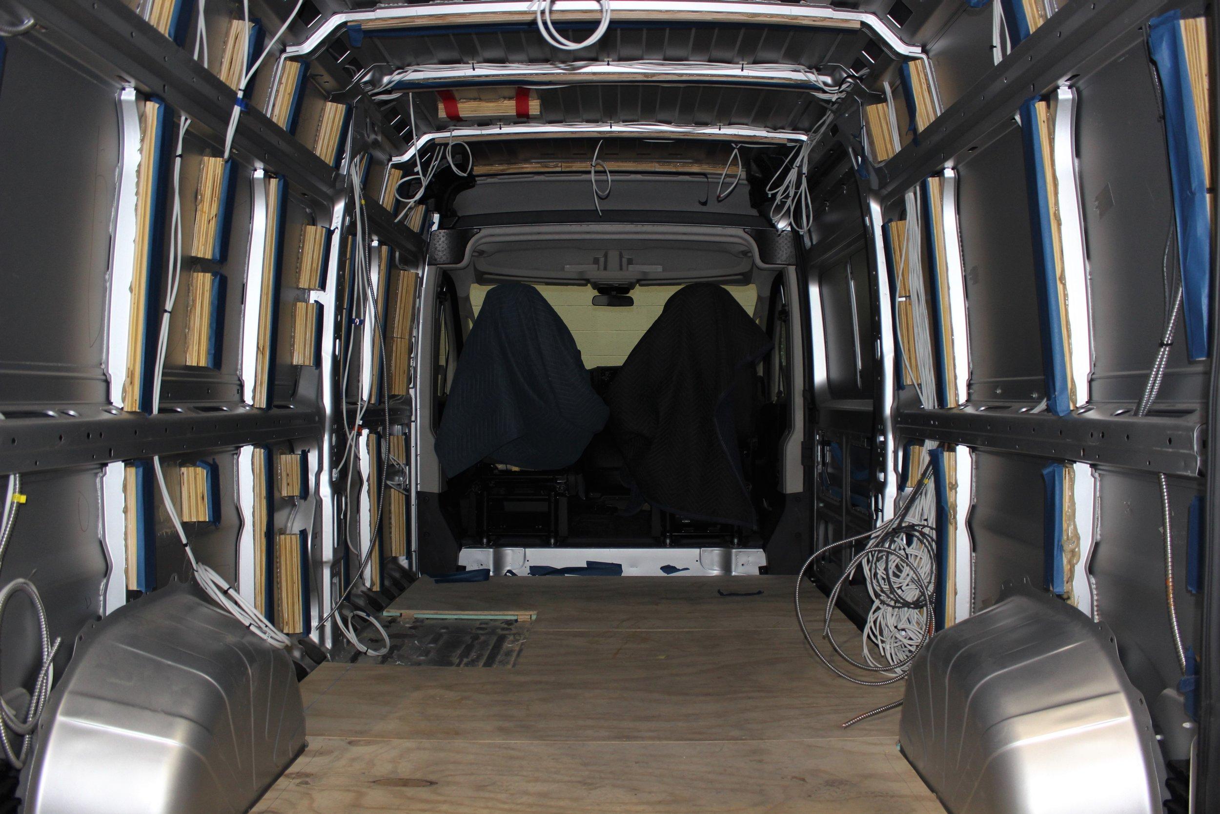 Production Process — Off Grid Adventure Vans
