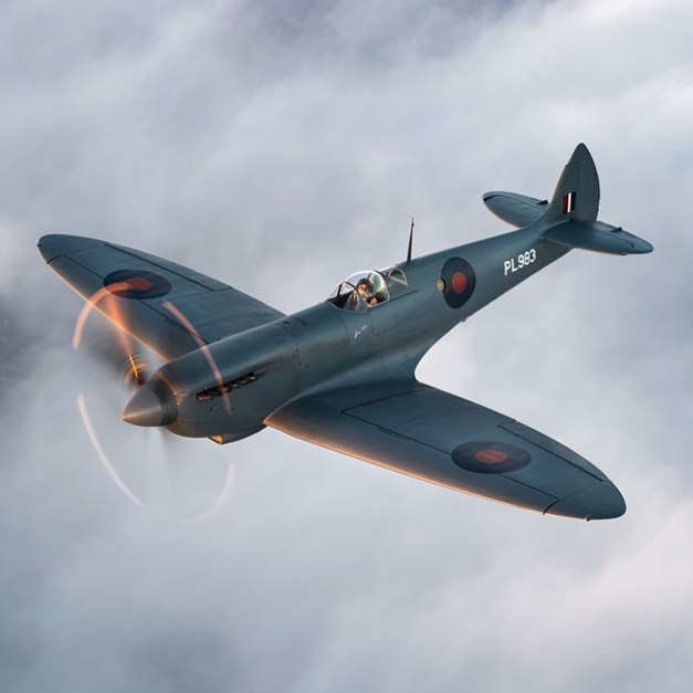 We are delighted to work with @aircraftrestorationcompany who rebuilt the @thesilverspitfire - Wishing the Silver Spitfire the best of luck on the world-first expedition to circumnavigate the globe in a Spitfire. #greatthings