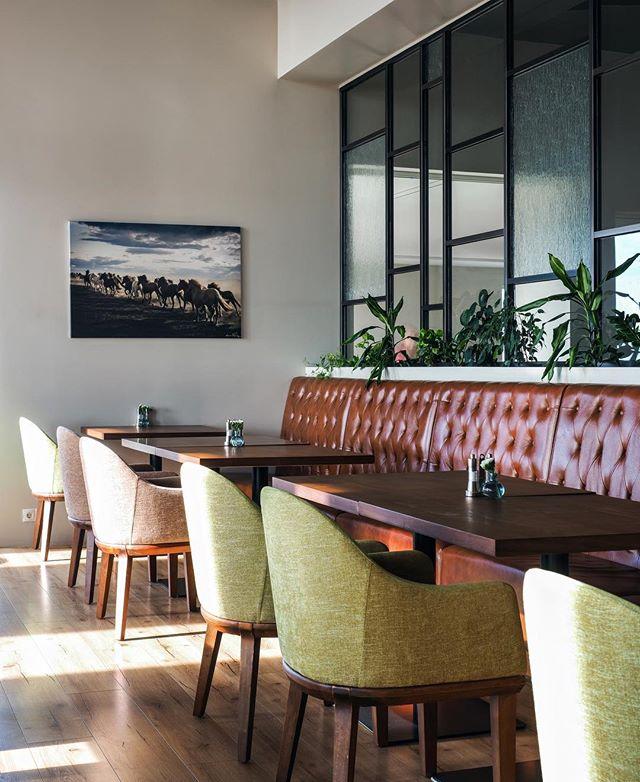 UMI veitingarstaður 🌱 @sandra_innanhussarkitekt . #fhiisland #interiordesigner #hönnun #innanhússhönnun #umihoteliceland #restaurantdesign #veitingarstaðahönnun