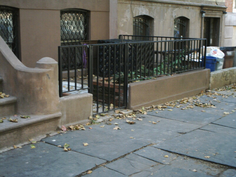 Ornamental Steel Bar Rail