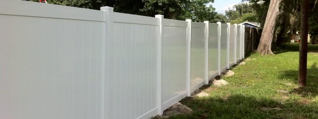 PVC Fencing -