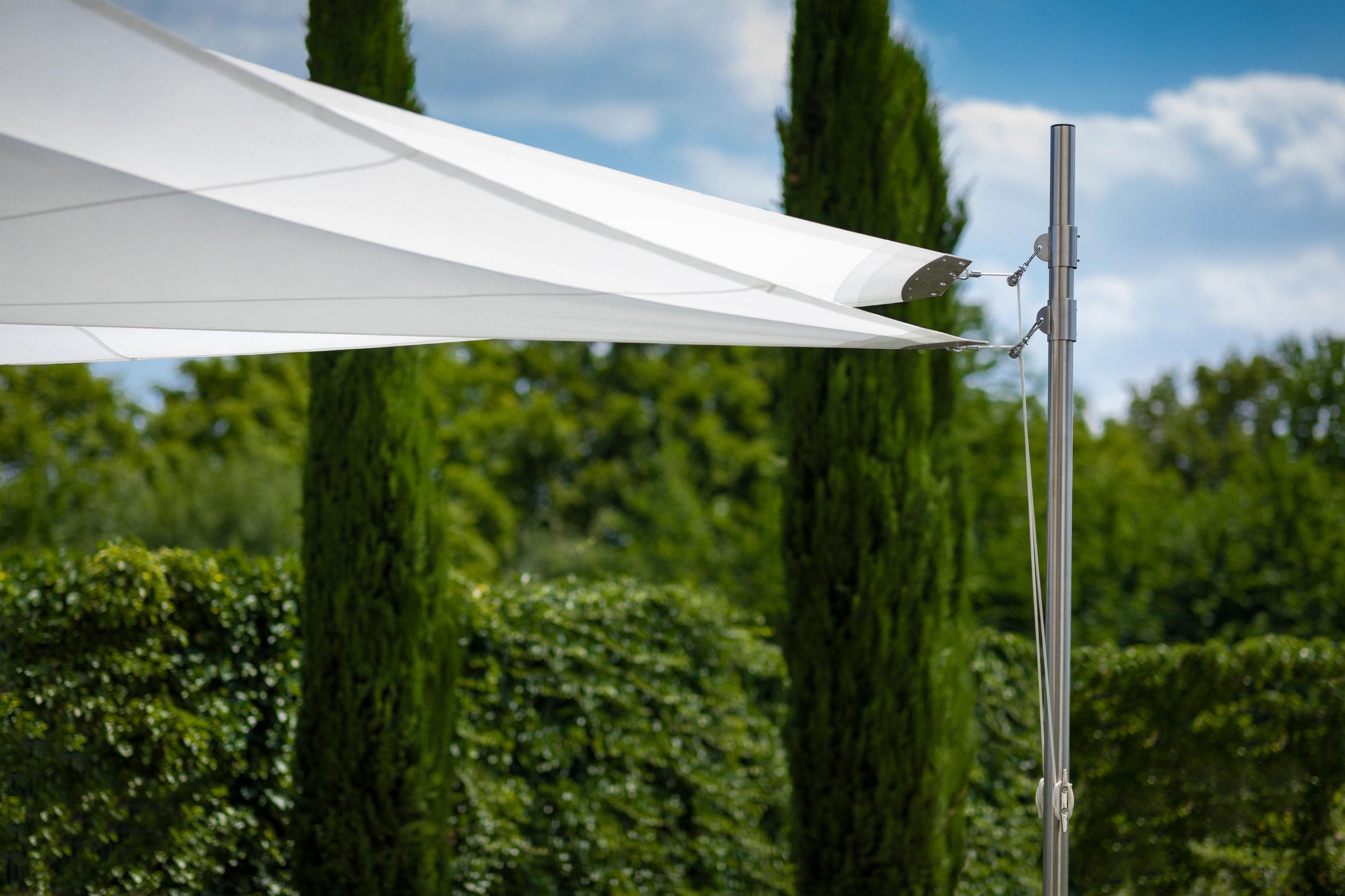 Pflegetipps für rewalux Sonnensegel