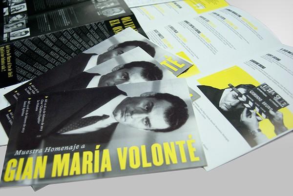 Brochure | Homenja a Gian Maria Volonte
