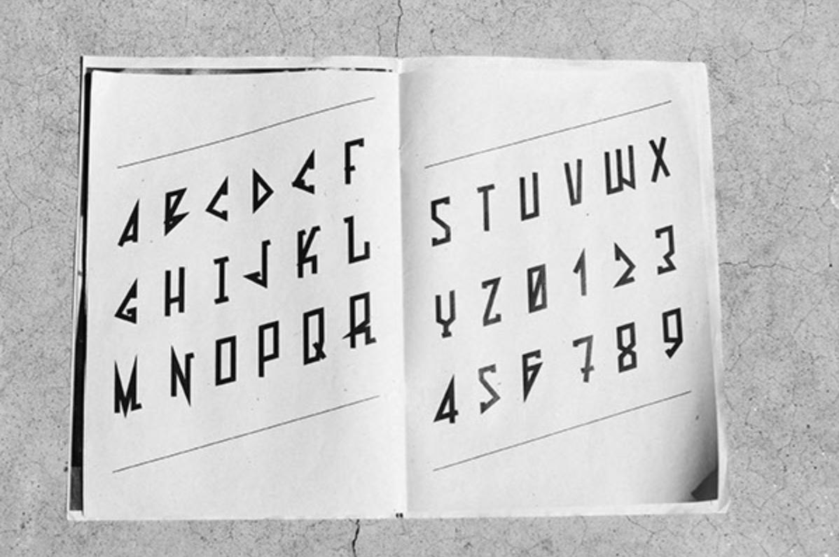 Bond font _ school & personal font project _ 03.png