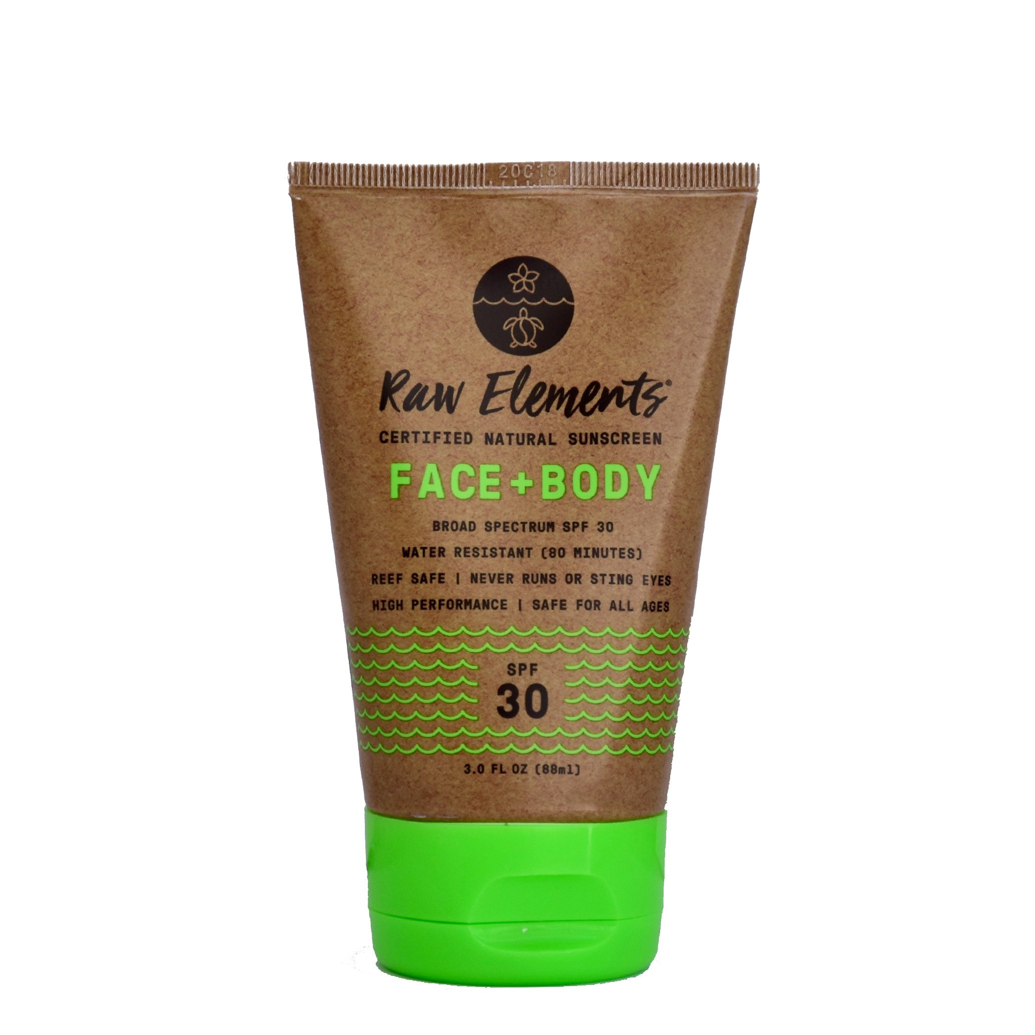 Raw Elements Face + Body SPF 30 available at   The Choosy Chick