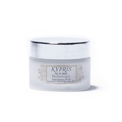 Kypris Pot of Shade Heliotropic SPF 30 available at   Citrine Natural Beauty    (my discount code is not eligible for Kypris)