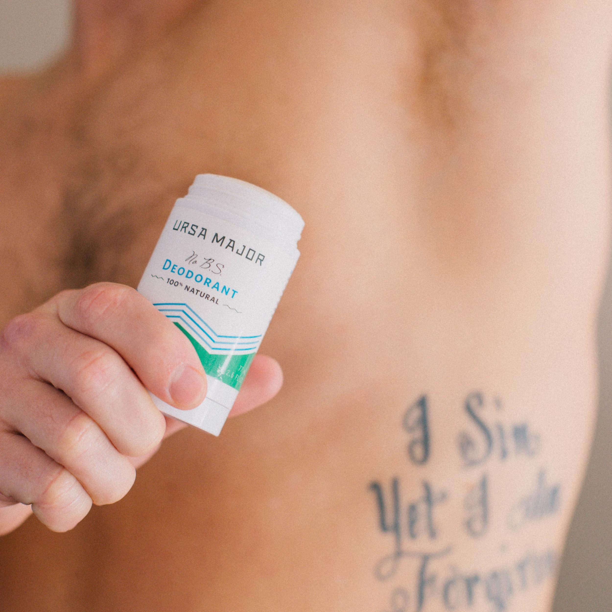 Ursa Major No B.S. Deodorant available on Amazon