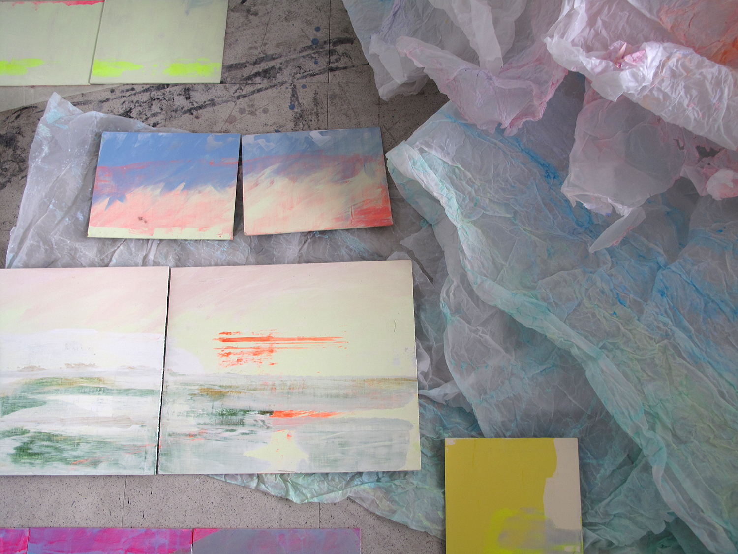 Revealing. Le tableau // Sky Northern