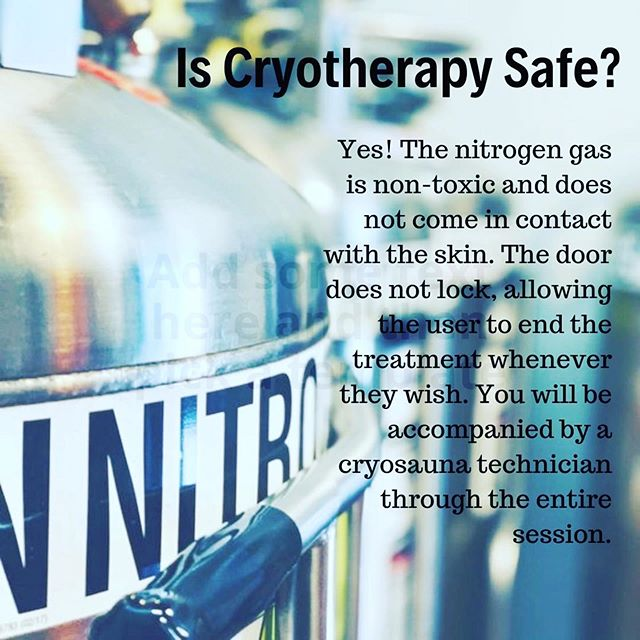 We will guide you through every step of the process! Come see us this week!  #cryotherapy #humanoptimization #arthritisrelief #depressionhelp #painmanagement