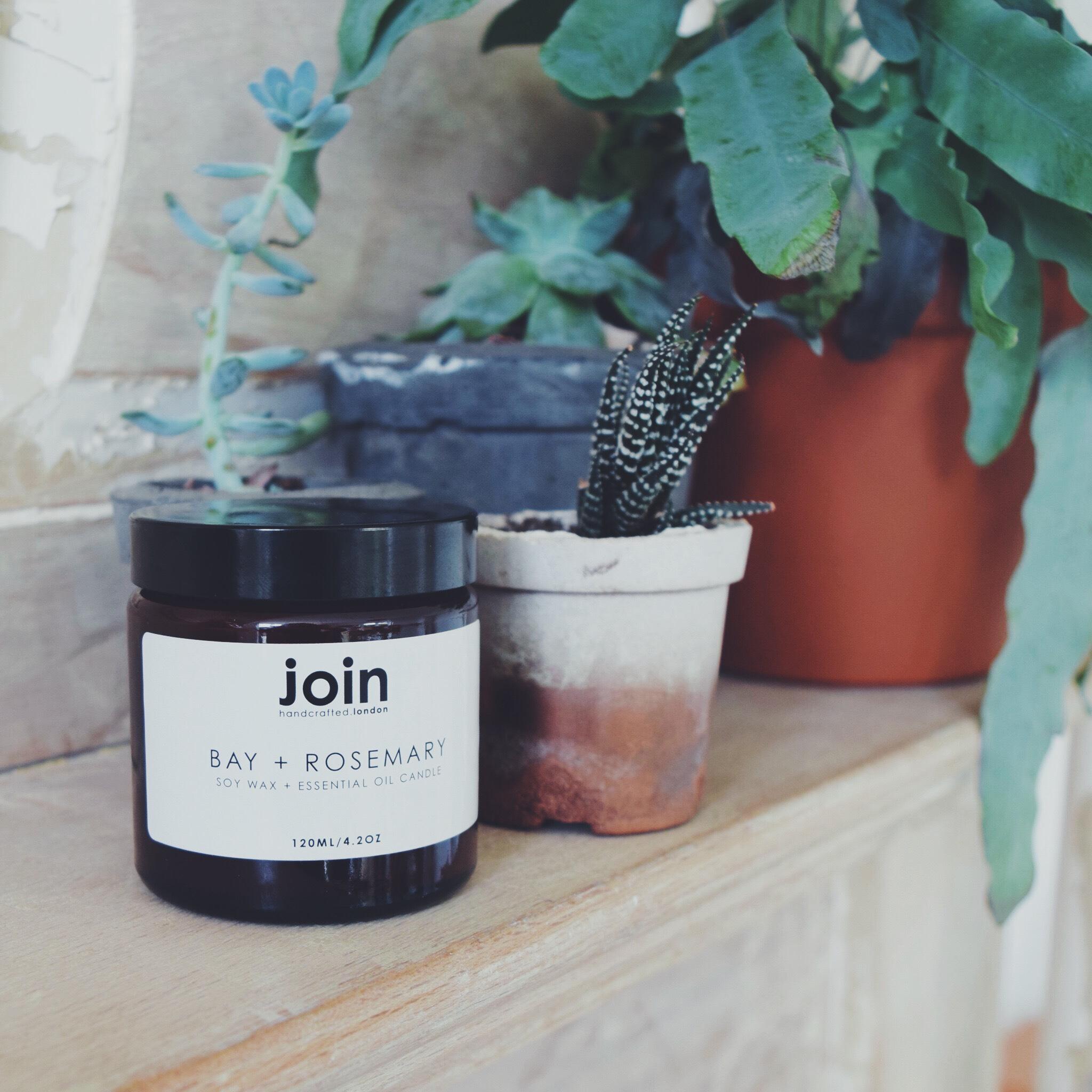 Firain + Join - Bay + Rosemary candle
