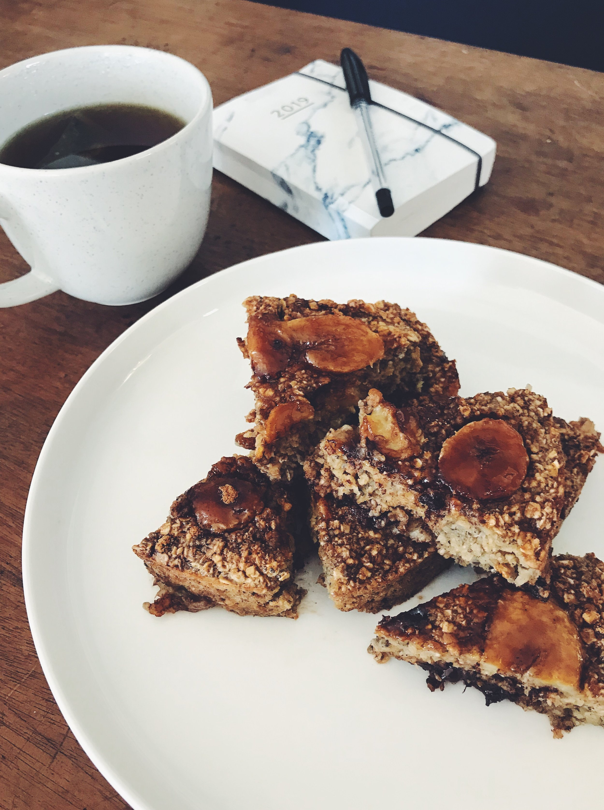Do not lick the screen….Jessica's delicious Chocolate and Caramelised Banana Baked Oatmeal is our first Firain recipe!