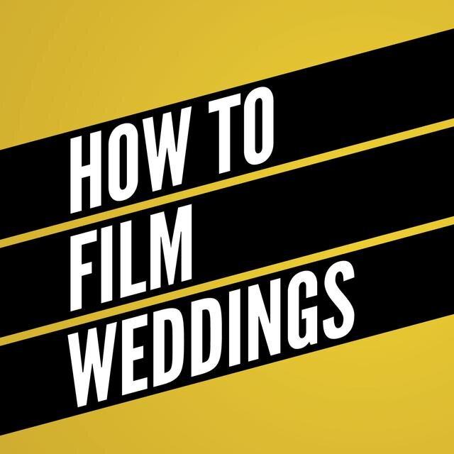 how to film weddings logo