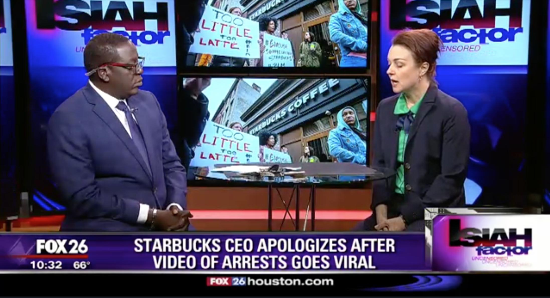 Two Black Men Arrested at Starbucks - April 16, 2018