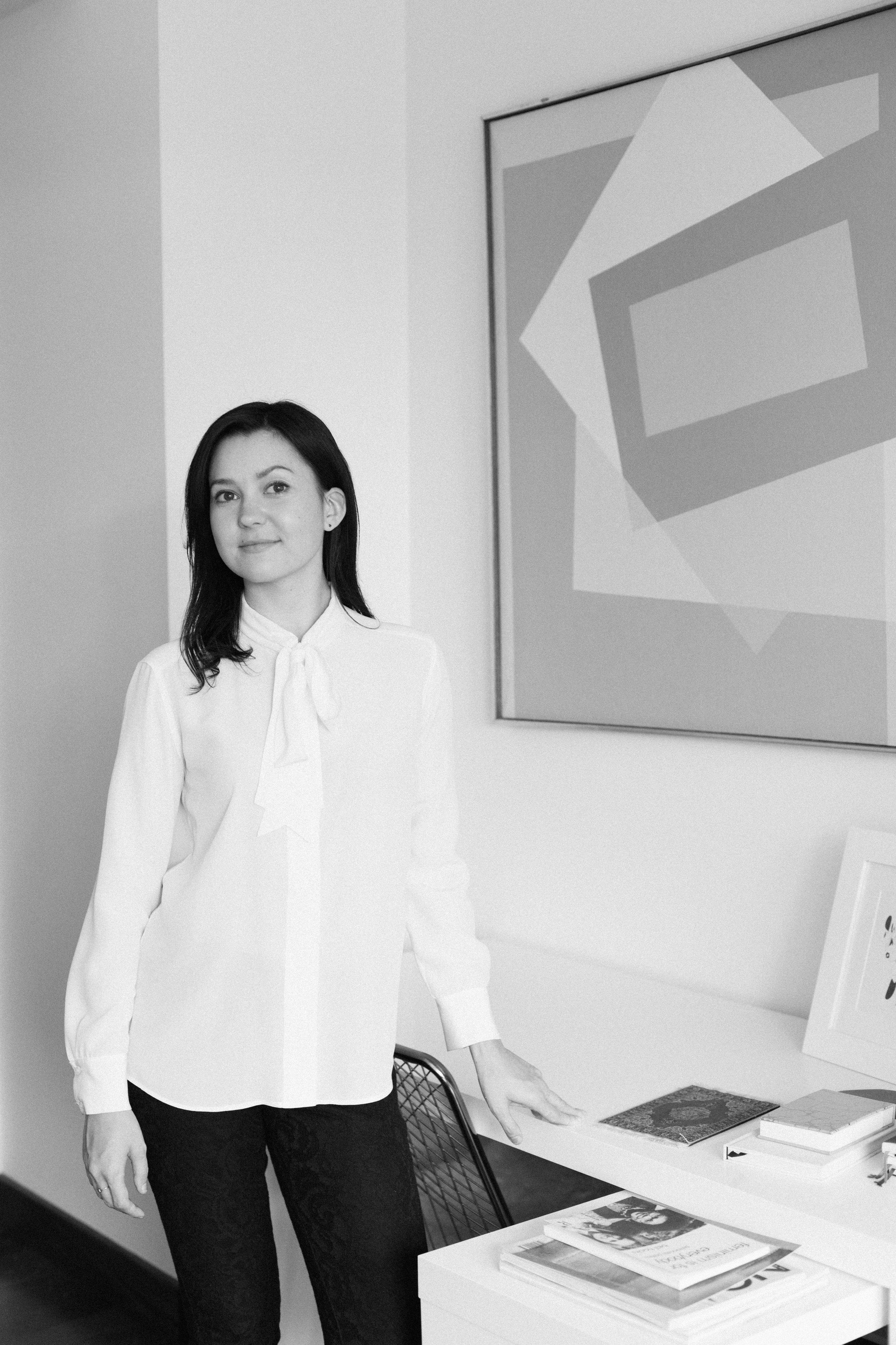 Julia Gamolina,  Madame Architect,  January - April 2018