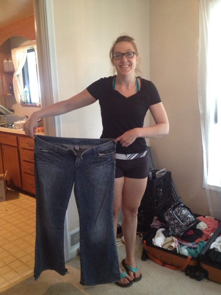 weight loss journey macro diet transformation picture