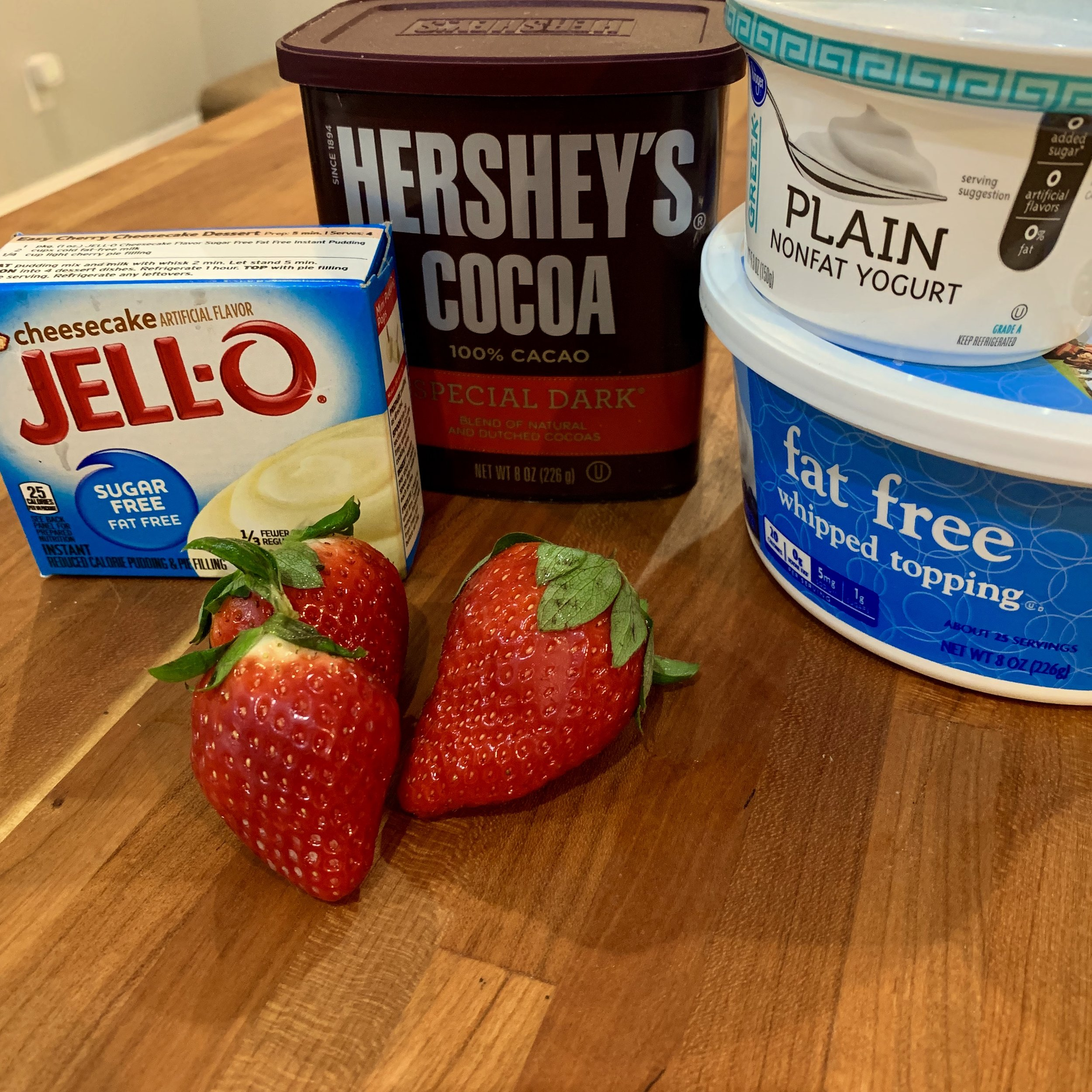 macro friendly meal valentines day dessert healthy
